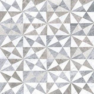 Декор Marmori Геометрический Микс 7ЛПР 60х60